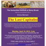 Enrico Bernard: The Last Capitalist