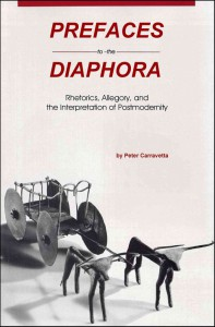 PREFACES TO THE DIAPHORA cover