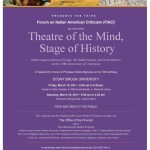 Theatre of the Mind, Stage of History